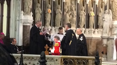 Historic event: Fra'Paul Caffrey makes his Solemn Vows, Dublin