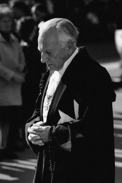 Fra'Andrew Bertie, 78th Grand Master of the Sovereign Order of Malta