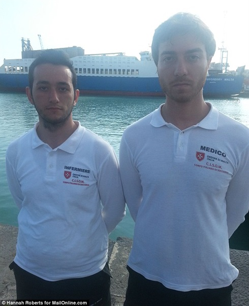 Lampedusa - Order of Malta Italian Emergency Corps (CISOM) tell their story