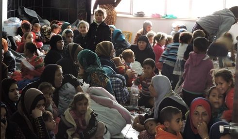 Iraq: IDPs arrive in Makhmour in search of safety