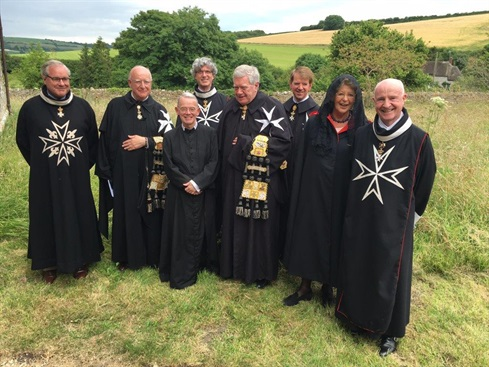 Grand Priory Members at Toller Fratrum