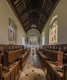 Magdalene College chapel, Cambridge