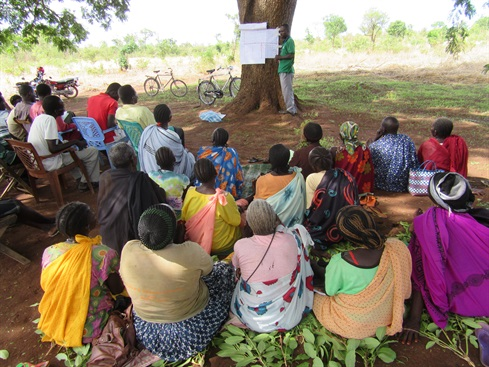 South Sudan-Malteser International team trains locals in farming methods