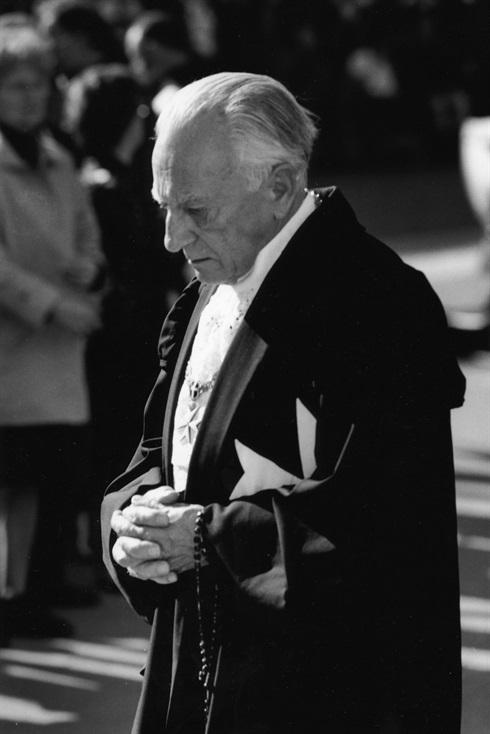 Grand Master Fra'Andrew Bertie