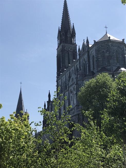 The basilica, Lourdes