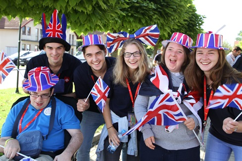 british summer campers!