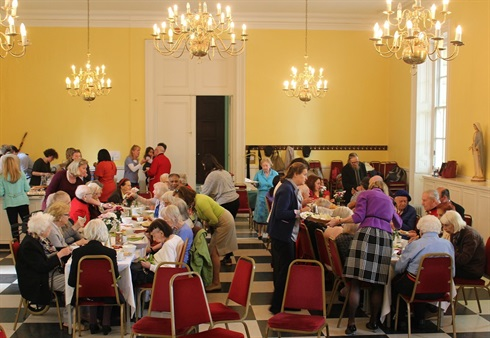 London tea parties for the elderly - every other month