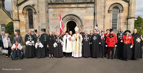investiture, Edinburgh, 23 September