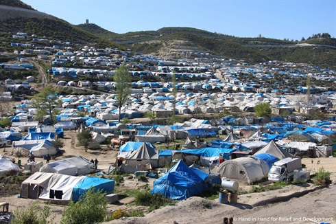 Northern Syria - camp for displaced persons