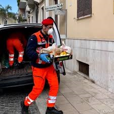 Italy - food parcels for the housebound