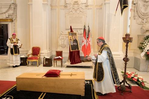 Funeral of Grand Master Dalla Torre