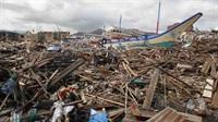 devastation, Leyte Province, Philippines