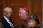 His Grace Archbishop Vincent Nichols and British Association President Richard Fitzalan Howard