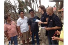 Typhoon aftermath - support for Samar islanders