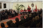 The Grand Master addresses the Order's Diplomatic Corps
