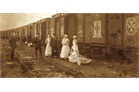 Order of Malta hospital train during World War I