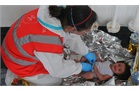 Resuce in the Aegean - a child is saved off the coast of Lesbos