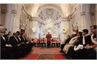 Grand Master addresses the Diplomatic Corps