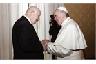 Pope Francis receives Fra'Giacomo Dalla Torre in audience for St John's Day