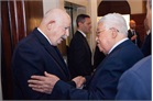 Grand Master greets the President of the State of Palestine