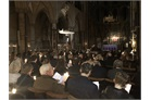 The Carol Service congregation