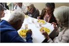Food and company for elderly poor in Caracas